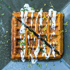 The Falafel Waffle