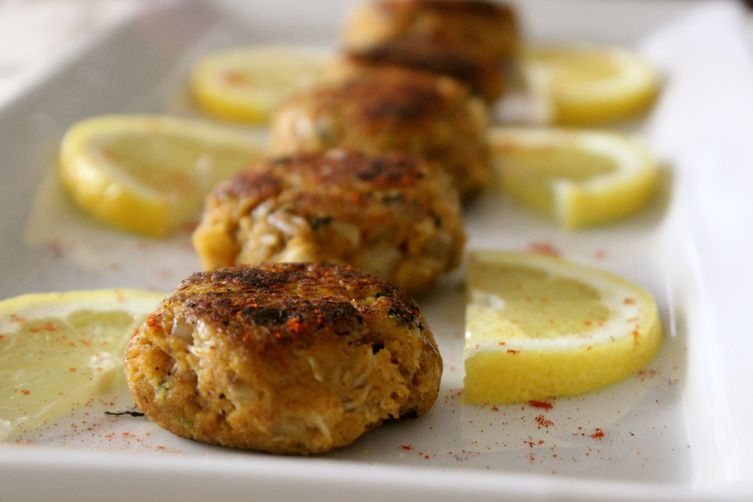 Indian Spiced Crab Cakes