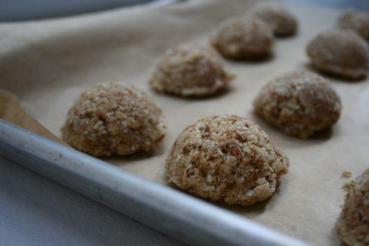 Raw Vegan Coconut Almond Macaroons