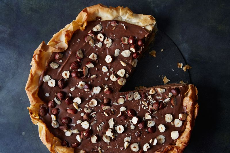 How to Make a Pie Inspired By Ferrero Rocher