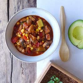 Chilled Summer Vegetable Chili
