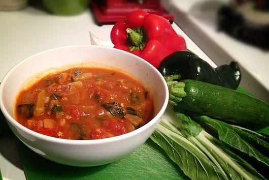 Thick Smokey Chili, Vegan Style