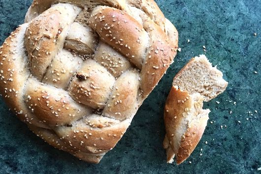 100% Whole Wheat Challah