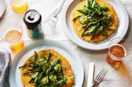 Oozy Mozzarella Arepas Make an Easy Dinner for Two