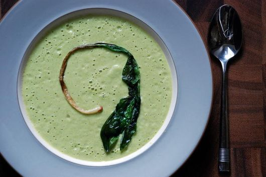Cold Asparagus Yogurt Soup