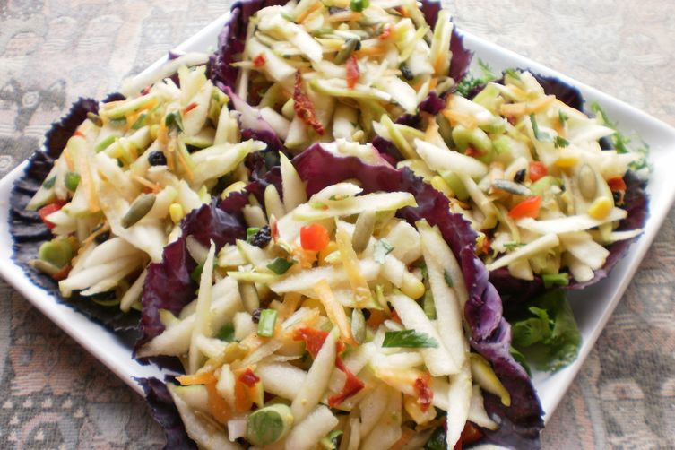Apple Salsa Salad
