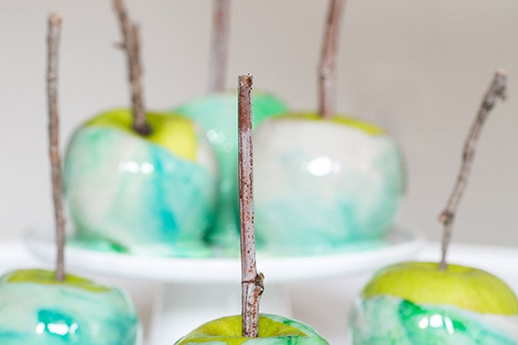 Marbled Candy Apples
