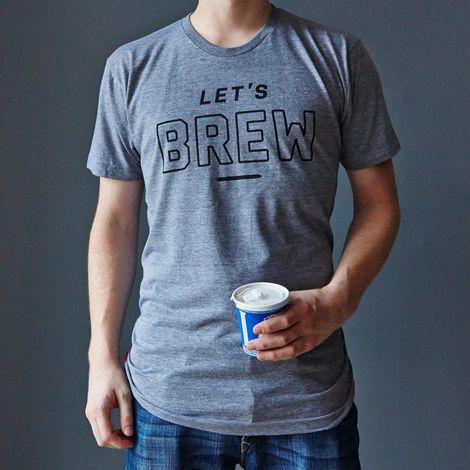 """Let's Brew"" T-Shirt"