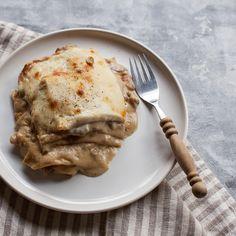 Vincisgrassi (Wild Mushroom and Prosciutto Lasagna)
