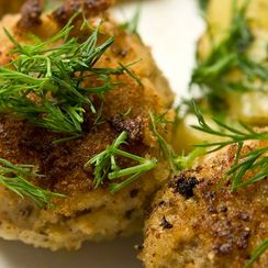 Mini Crab Cake Appetizers