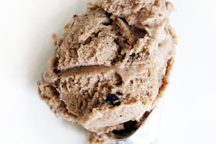 Roasted Banana and Chocolate Chunk Ice Cream
