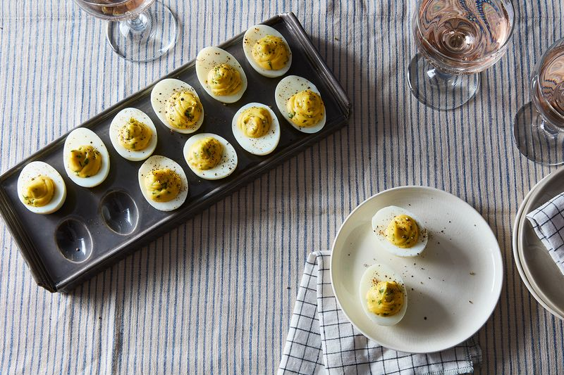 Virginia Willis' Deviled Eggs