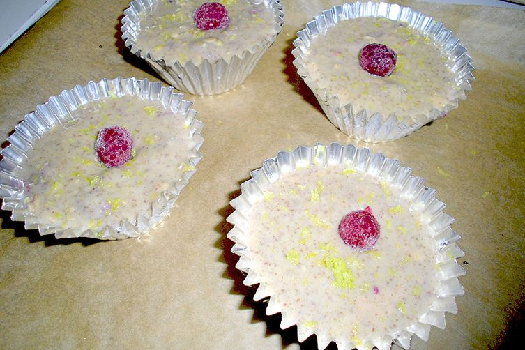 Raspberry Lemon Zest Muffins