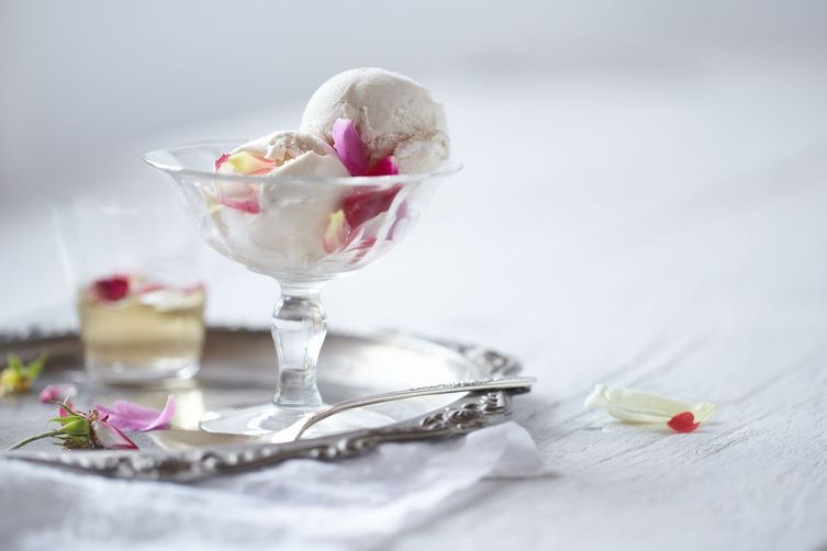 Rose Ice Cream