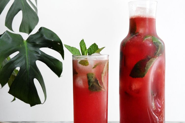 Sparkling Watermelon Vodka Lemonade