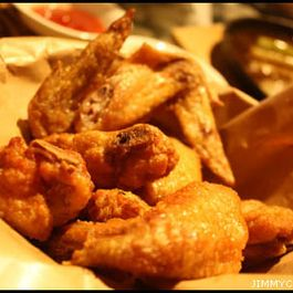 Oven Fried Spicy Chicken Wings
