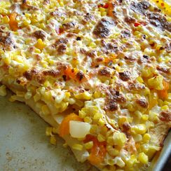 Summer Corn Pizza