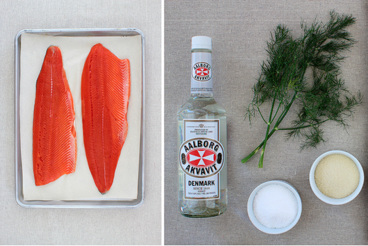 Curing Your Own Gravlax