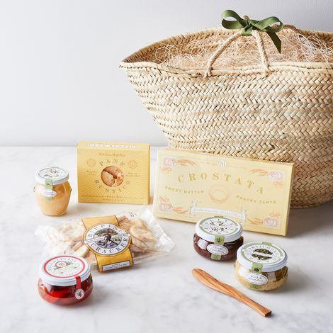 Italian Antipasti Basket Gift Set