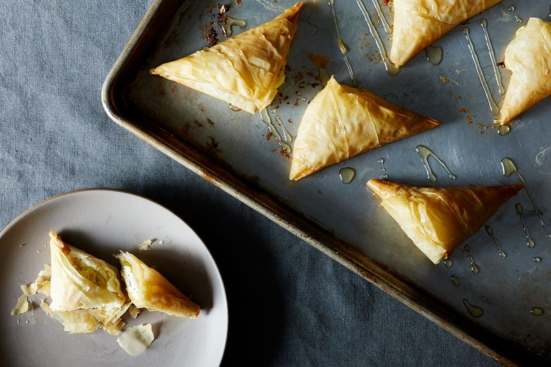 Greek Style Cheese Pies (Tyropita)