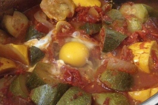 Easy Zucchini Summer Stew