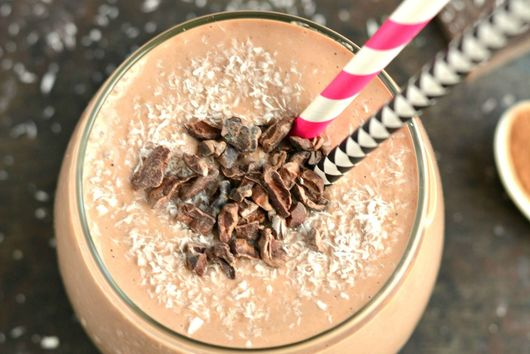 Chocolate Almond Joy Smoothie