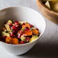 Winter Fruit Salsa