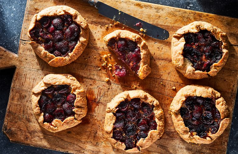 The Flakiest Cherry Crostatas Are Also the Cheesiest (Wait, What?)