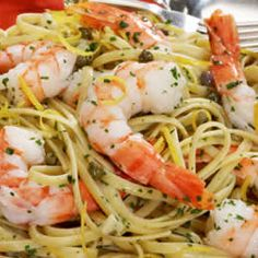 Shrimp Scampi with Linguine