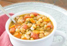 Vegan Italian Garbanzo Bean Soup