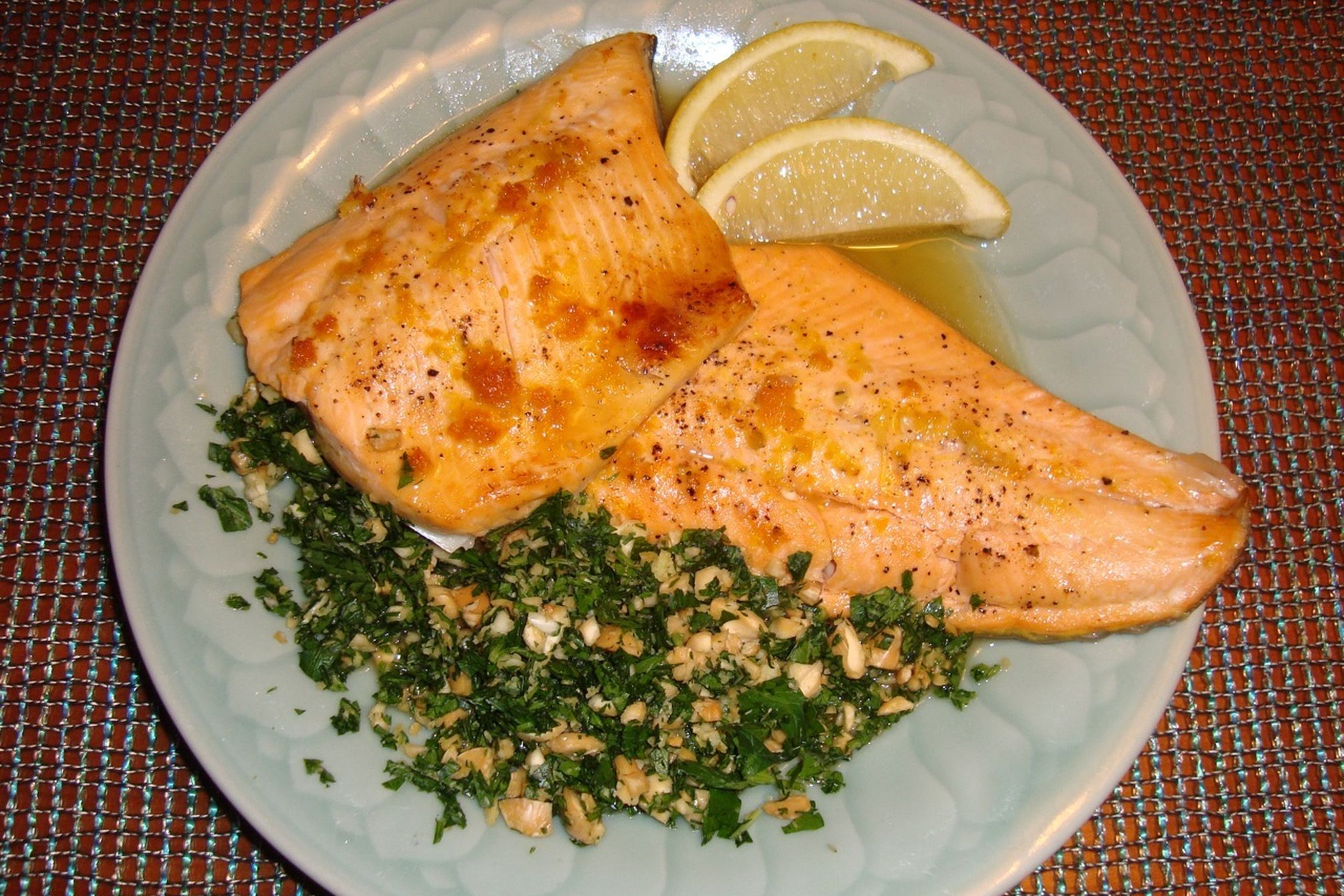 Oven Baked Maple And Citrus Arctic Char With Gremolata Recipe On Food52