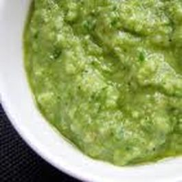 Vegan Pesto with White Miso and Smoked Salt