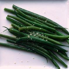 Garlic Parmesan String Beans