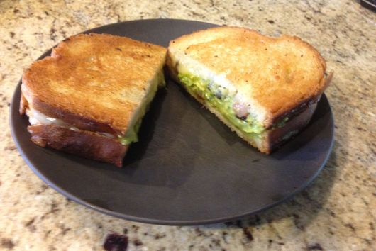 Grilled Cheese Santa Fe
