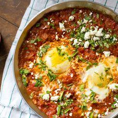 Tomato Achaar Shakshuka