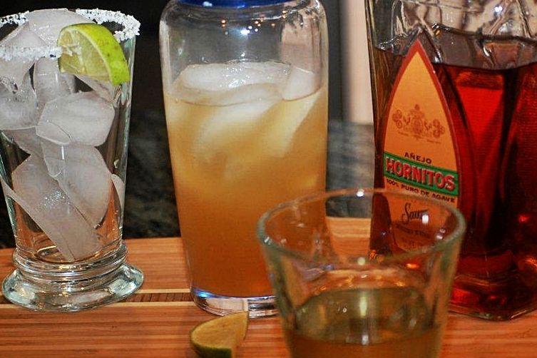 Golden Basil-Ginger Margarita