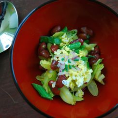 Three Bean Salad the Bonafide Farm Way