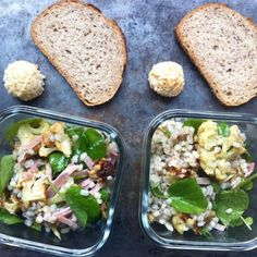 A Grain Salad, on the Fly