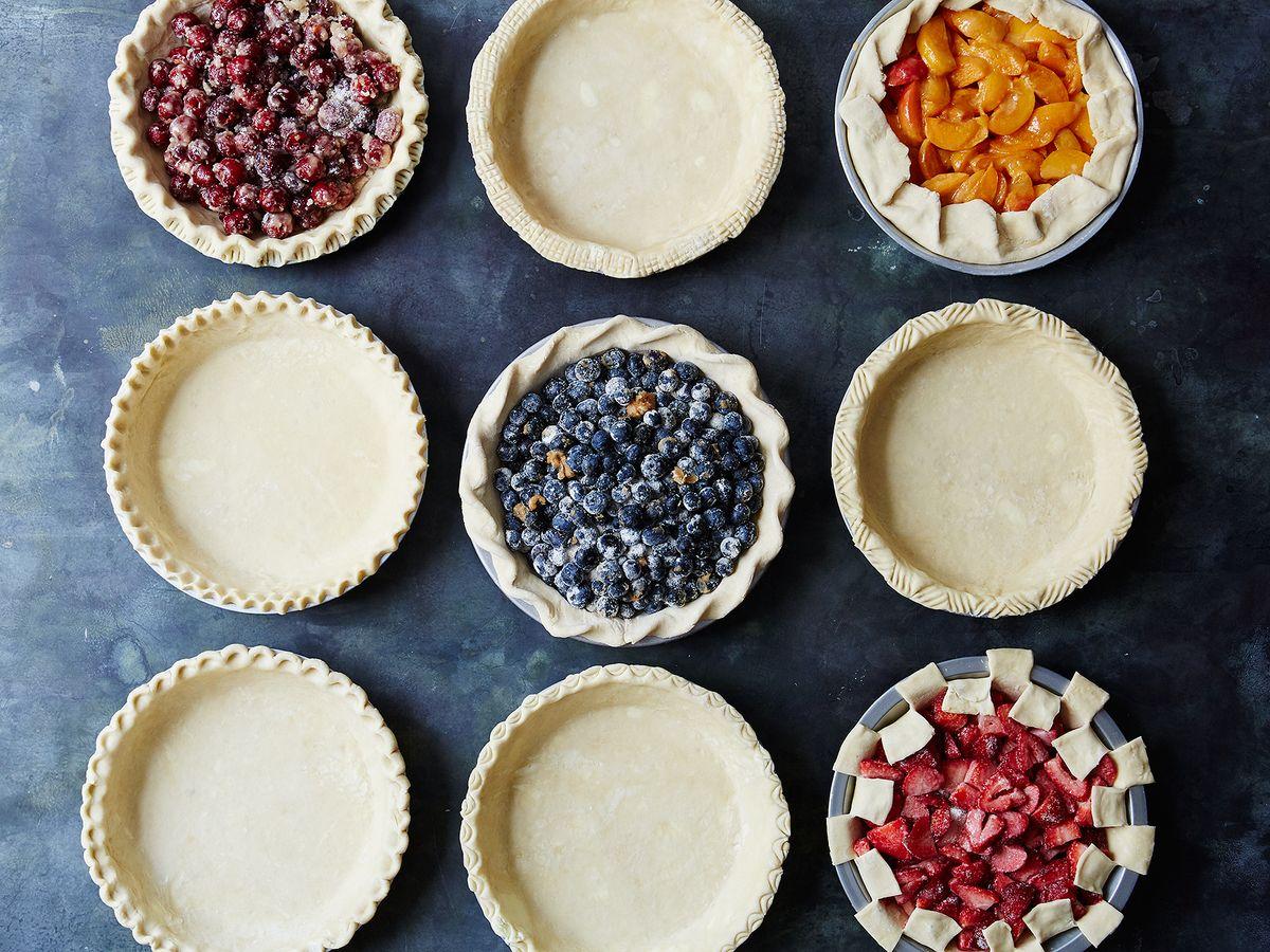 How to Crimp Pie Crust - 9 Decorative Pie Crust Design Ideas