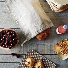 Linen Bread Bags (Set of 2)