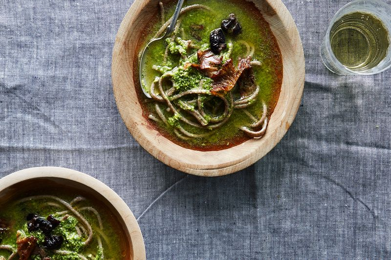 Heidi Swanson's Spicy Green Soup