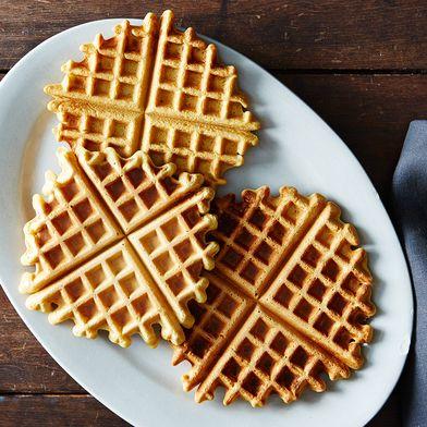 Socca Waffles