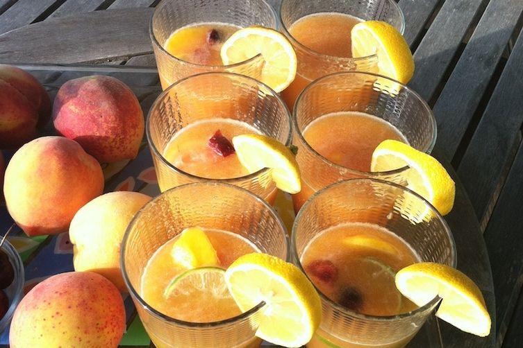 Peach Sangria