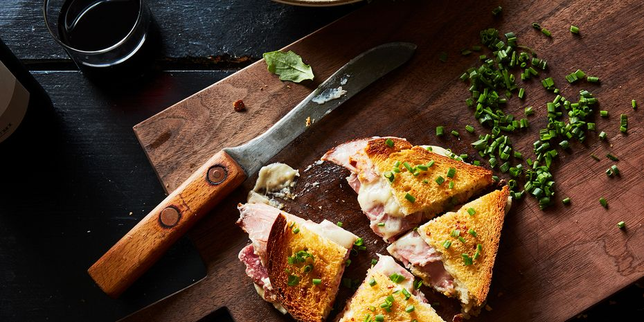 How the master baker arrives at gooey, cheesy, ham & cheese sandwich heaven