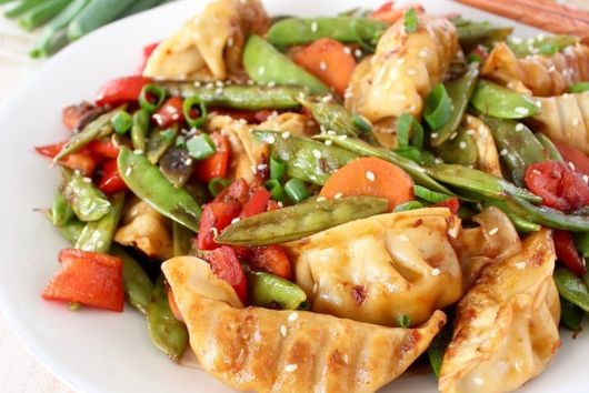 Crazy Cuizine Chicken Potsticker Stir Fry