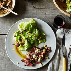 Wait, April Bloomfield Puts What in Her Salad Dressing?