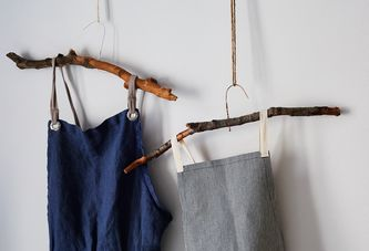 Rustic DIY Hangers That Are Way More Fun than Wall Hooks