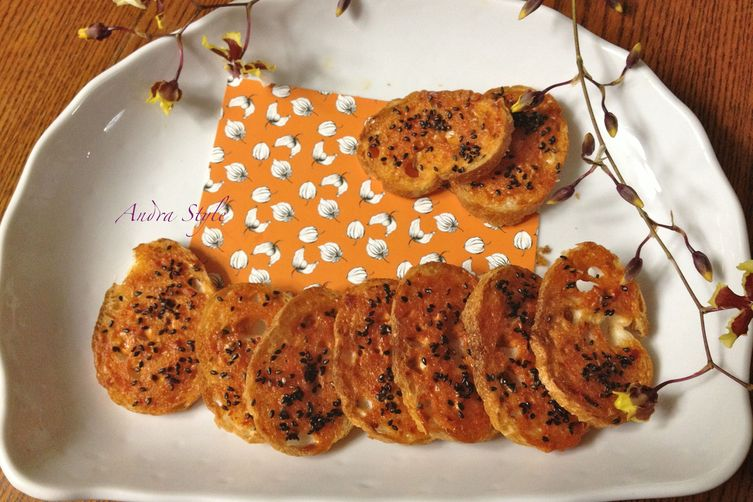 Crunchy Adult Rusk- Spicy Sesame Flavor