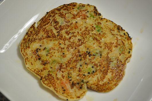 Sesame - Semolina Pancakes