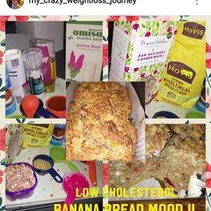 Vegan style No-Cholesterol, Muesli Banana Bread